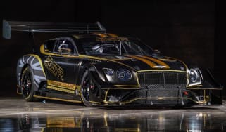 Bentley Continental GT3 Pikes Peak front