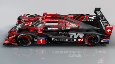 TVR Rebellion Racing LMP1 - side