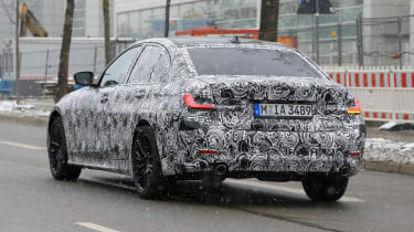 G20 BMW 3-series spy - rear