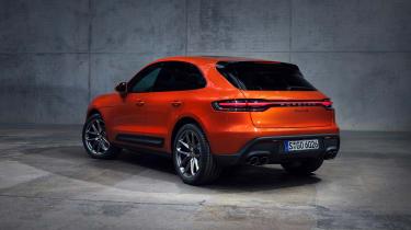 2021 Porsche Macan S – rear quarter