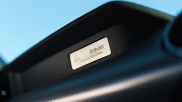 Ford Mustang Steve McQueen Bullitt Edition – badge