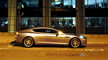 Aston Martin Rapide S side
