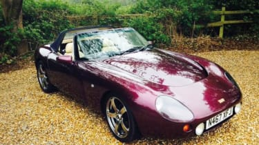 TVR Griffith – front quarter