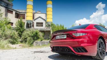 Maserati GranTurismo - rear