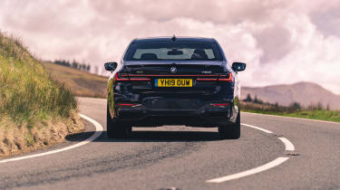 BMW 7-series 2019 tail