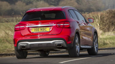 Mercedes GLA250 AMG rear
