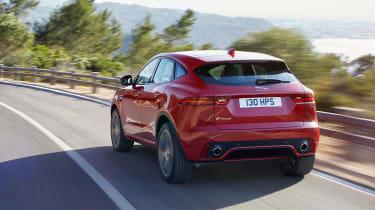 Jaguar E-Pace - driving rear