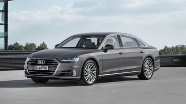 All-new Audi A8 - front grey