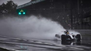 Formula One Round 13 - Mercedes Quali