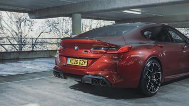 BMW current range - M8
