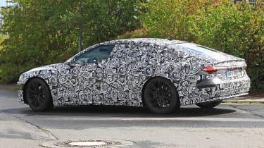 Audi A7 spied - rear 3.4