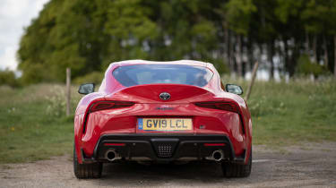 Toyota GR Supra review - tail