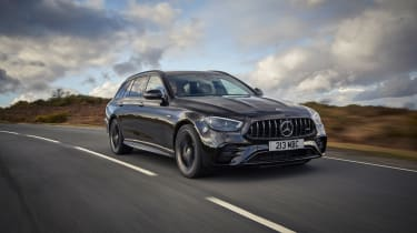 2021 Mercedes-AMG E53 4Matic+ Estate - front tracking