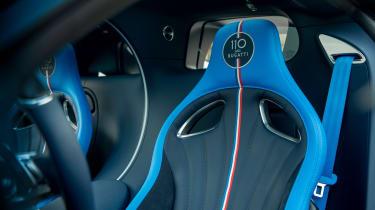 Bugatti Chiron 110 edition - seats