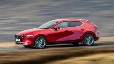 2019 Mazda 3 side