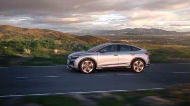 Audi Q4 e-tron Sportback – side