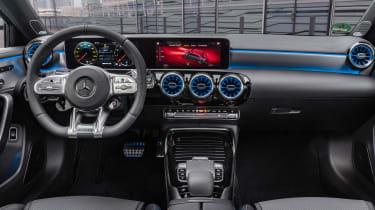Mercedes-AMG A35 saloon - dash
