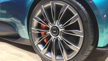 Aston Martin Vanquish Vision concept live - wheel