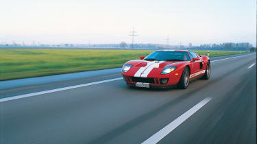 Ford GT Colorado Red - front moving