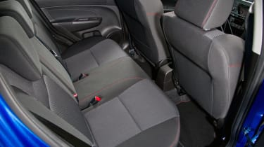 Suzuki Swift Sport five door rear seats space