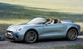 Mini Superleggera Vision sports car concept unveiled
