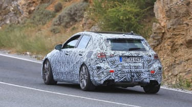 Mercedes-AMG A45 Spies - rear 3.4