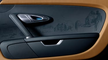 Bugatti Veyron Meo Costantini special door card