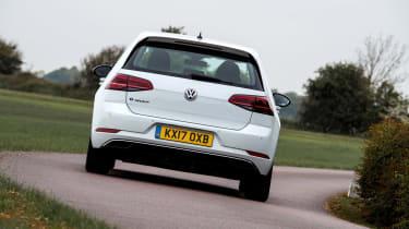 Volkswagen e-Golf - rear