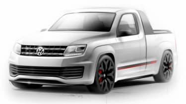 VW Amarok R-style concept 22in alloys