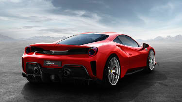 Ferrari 488 Pista – rear quarter
