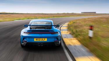 992 Porsche 911 GT3 manual – rear tracking