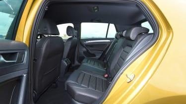 VW Golf - rear seats