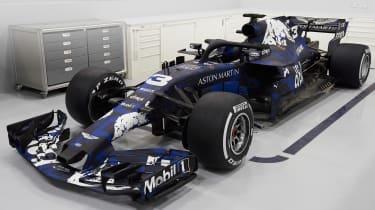 Red Bull RB14 front quarter