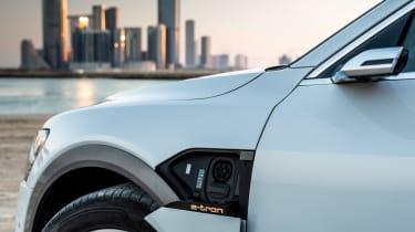 Audi e-tron 2019  charging point