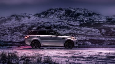 Range Rover Sport Ingenium side