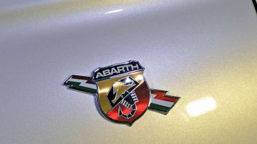 Abarth 500 badge