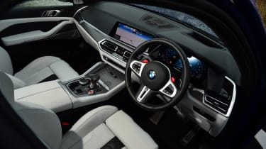 BMW X5M Competition - interior