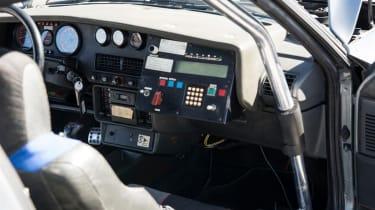 Peugeot 205 T16 PTS Clubman – interior