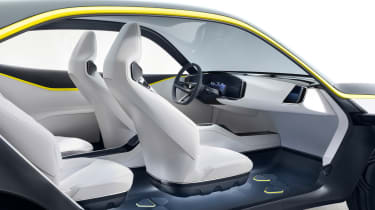 Vauxhall GT X Experiment Concept - cabin