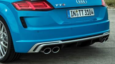 Audi TTS – rear