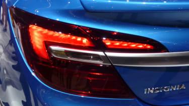Vauxhall Insignia VXR rear light