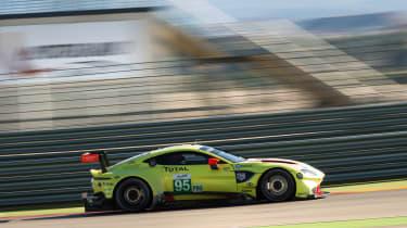 2018 Aston Martin Vantage GTE – side