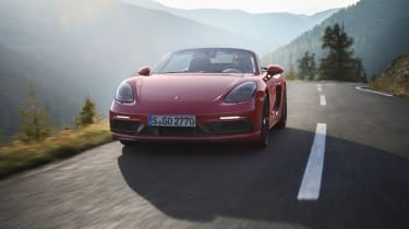 718 Boxster and Cayman GTS - front