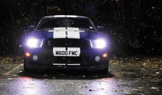 Shelby Mustang GT500 racing stripes