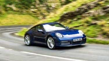 Porsche 911 Carrera S manual cornering