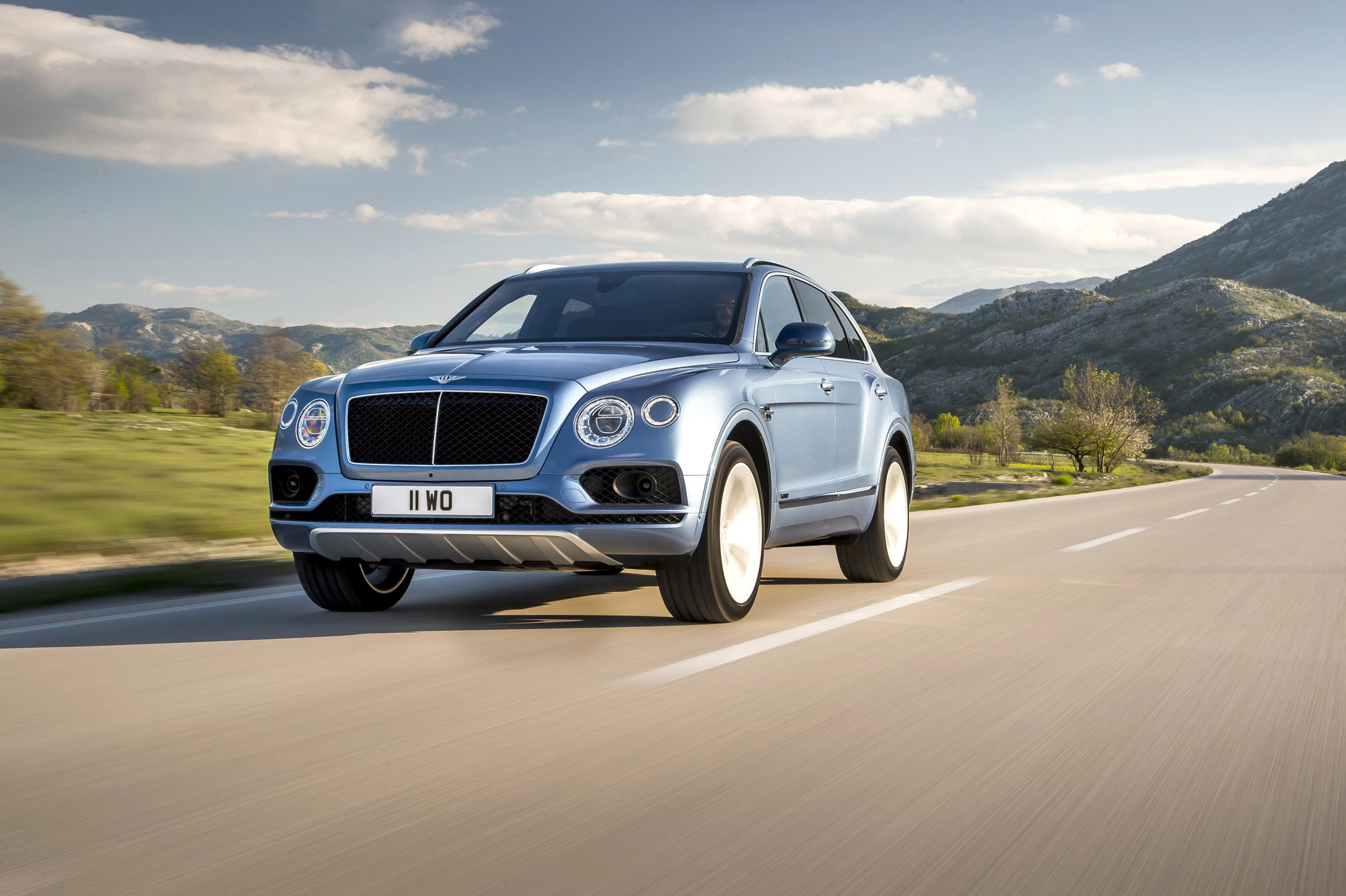 Bentley Bentayga Diesel 168mph And 35mpg Evo