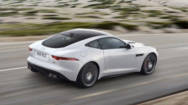 Jaguar F-type R Coupe Polaris White