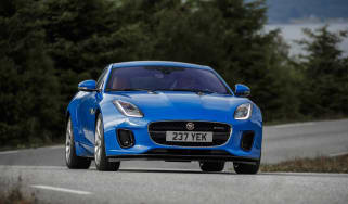Jaguar F-type four-cylinder front action