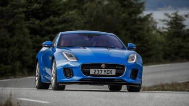 Jaguar F-type four-cylinder front action