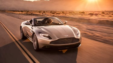 Aston Martin DB11 Volante - front down